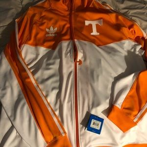 Brand New Tennessee Volunteers Adidas warmup
